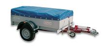 Прицеп-самосвал для перевозки грузов
