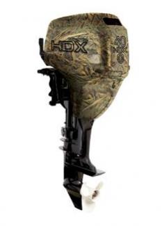 Лодочный мотор HDX T 40 FWS (камуфляж-тростник)