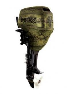 Лодочный мотор HDX T 40 FWS (камуфляж-лес)