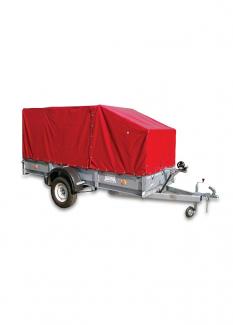 Автоприцеп 829450. С длиной кузова 3,5 на рессорной подвеске