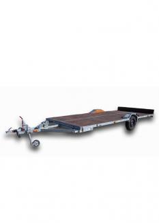 Автоприцеп ЛАВ-81019 для перевозки судна на воздушной подушке